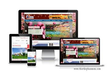 Mẫu giao diện website du lịch